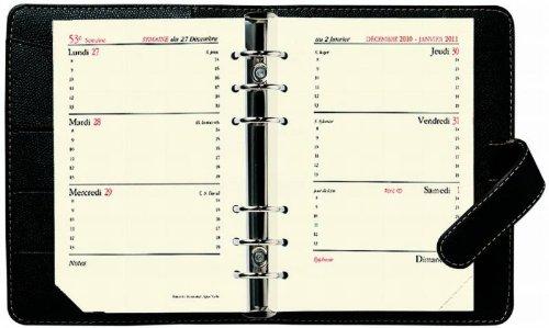 QUO VADIS Agenda organiseur TIMER 14 Horizontal Luna framb 8 x 12 cm
