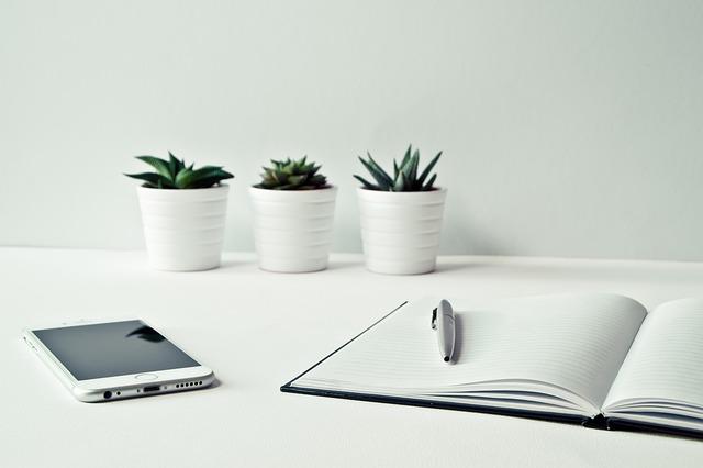 bureau, smartphone, iphone