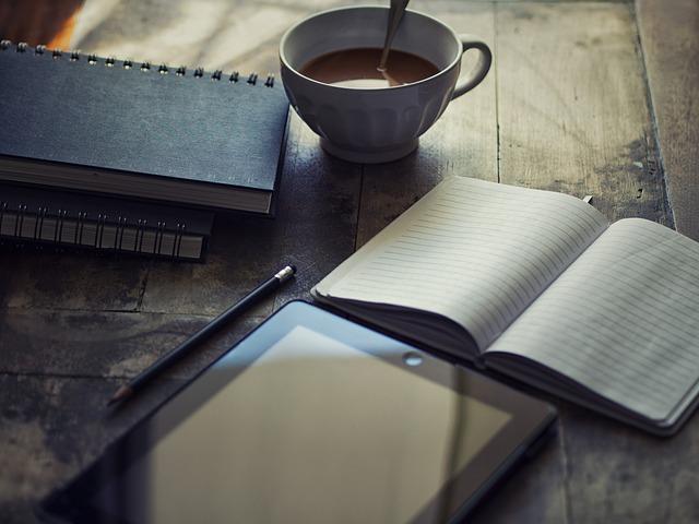 journal intime, ipad, écrire