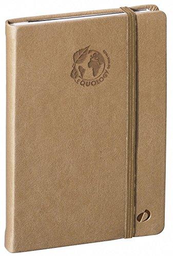 QUO VADIS - Carnet de notes Emboîté Equology, 10x15cm, papier 100% recyclé, ligné, 192p, couleur Beige sable