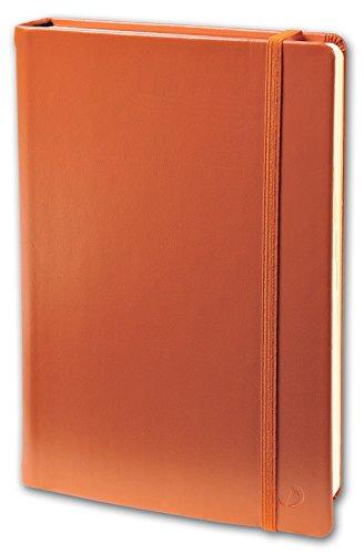 Quo Vadis Habana CARNET 15 non ligné avec élastique 10x15cm Orange