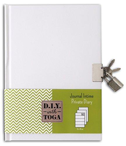 Journal Intime Toga à Décorer (13 x 18 x 1.5 cm)
