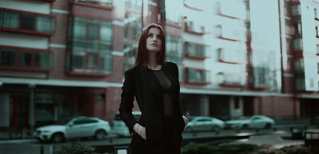 femme d'affaires, entreprise, fille