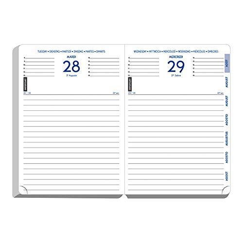 Exacompta Forum Country Flag Agenda scolaire 2017-2018 12x17cm 2 visuels au choix