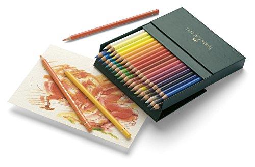 Faber-Castell 110038 Crayon Polychromos studio box de 36 pièces